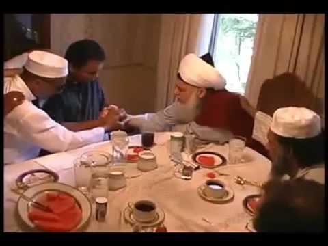 Muhammad Ali Taking Bayah Into Naqshbandi Sufi Tariqah